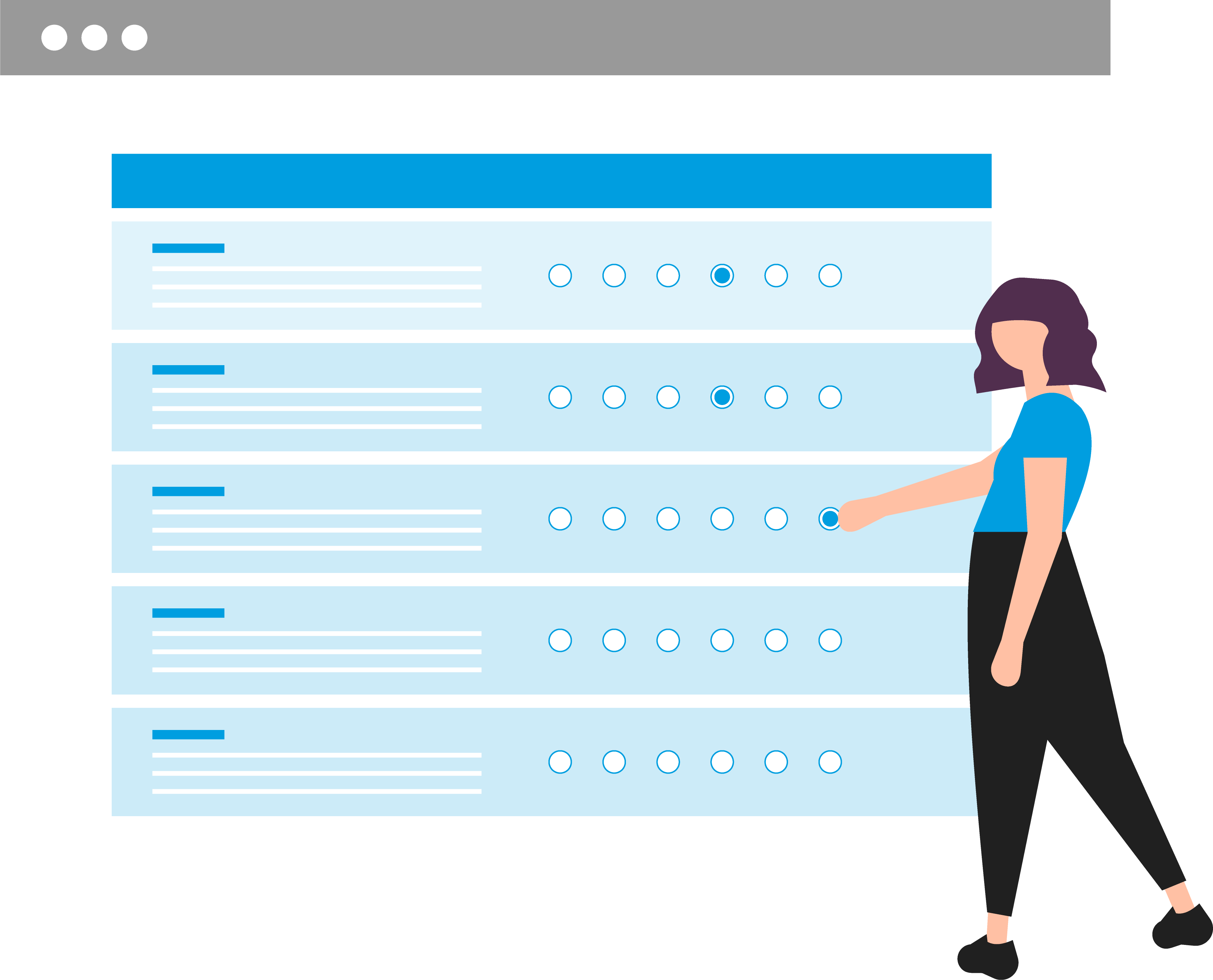 Ilustración encuesta